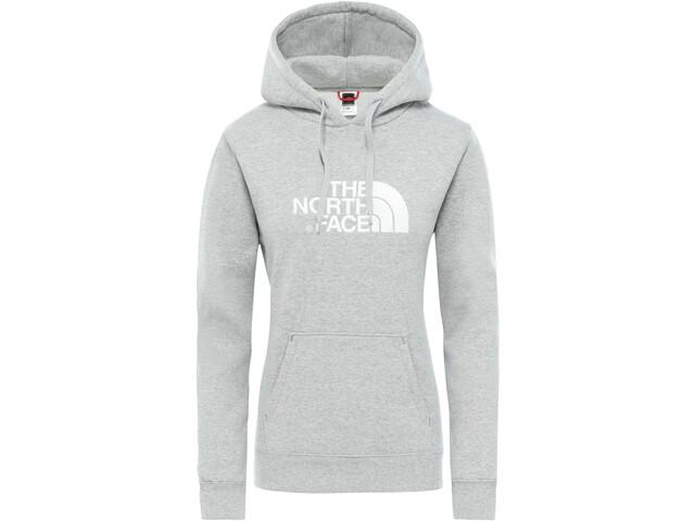 The North Face Drew Peak Kapuzenpullover Damen tnf light grey heather/tnf white